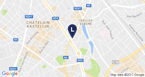 Atelier location small map