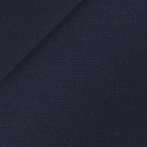 Blazer Loro Piana Primavera/Estate Hopsack Blu Scuro