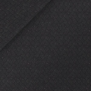 Dark Blue Microdesign Wool Silk Suit