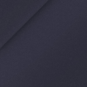 Trousers Dark Navy Blue Wool Silk