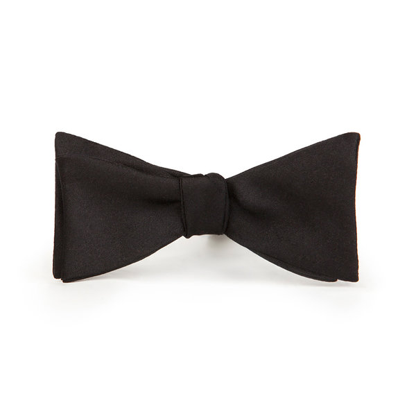 Nœud papillon Made in Italy Four Seasons Solid Black