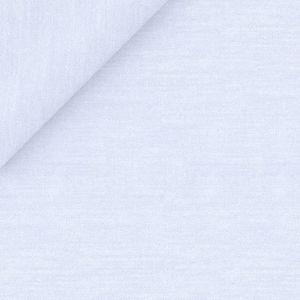 Hemd Twill Baumwolle Azurblau