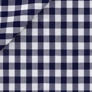 Camicia Blu a Quadri Oxford Cotone