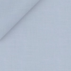 Natural Stretch Light Blue Shirt Fabric produced by  Grandi & Rubinelli