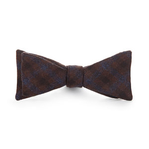 Bowtie Blue Check Wool