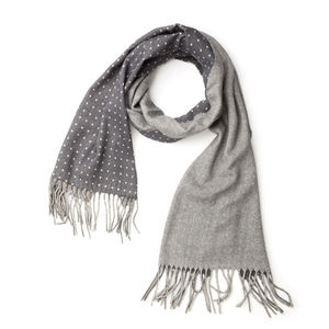Duo Grey Scarf