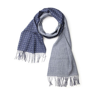 Duo Blue Scarf