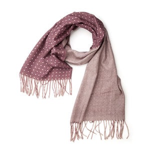 Scarf Duo Burgundy