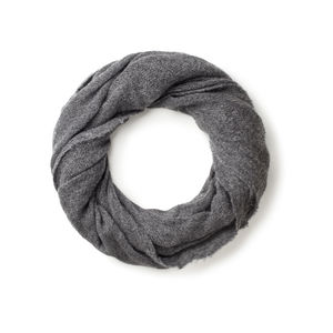 Tubo Barré Grey Scarf