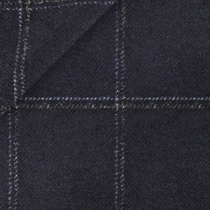 Blazer Blue Check Wool Cashmere