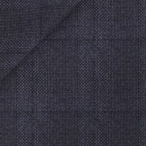 Blue Hopsack Check Blazer