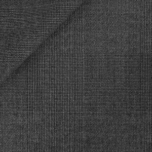 Icon Grey Prince of Wales Blazer Fabric produced by  Vitale Barberis Canonico