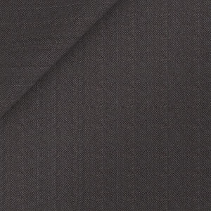 Trousers Super 160's Grey Herringbone