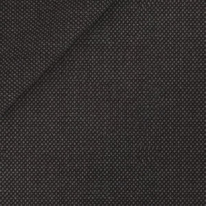 Anthracite Birdseye Jacket Fabric produced by  Tallia di Delfino