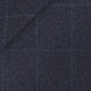 Melange Blue Check Suit