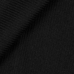 Obliquo Black Wool Coat