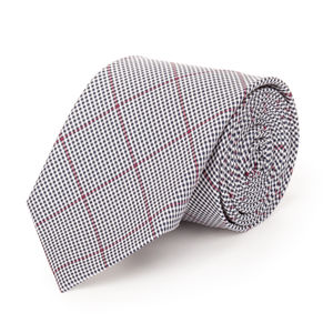 Cravatta Blu Microquadri