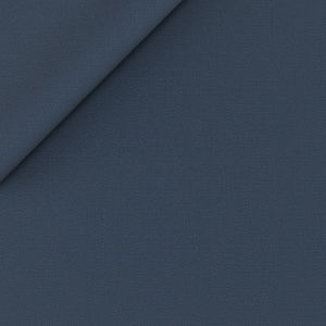Blue Powder Twill Suit Fabric produced by  Lanificio Zignone