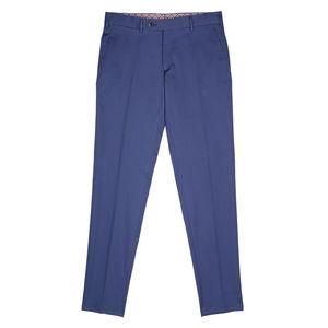 Pantaloni chino Cerulei Tessuto prodotto da  Tessuti di Sondrio