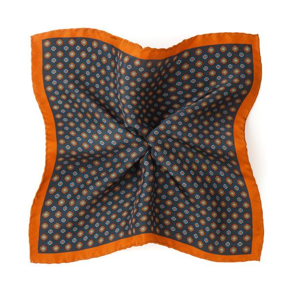 pochette de costume pour homme rome bleu p trole soie lanieri. Black Bedroom Furniture Sets. Home Design Ideas