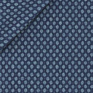 Blazer Blau Makro Punkte Produzent  Tessitura di Quaregna