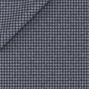 Blazer Blu Notte Pied de Poule Tessuto prodotto da  Drago
