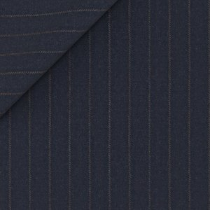 Blue Stripe Jacket Fabric produced by  Reda