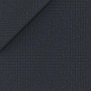 Giacca Blu Principe di Galles Flanella Tessuto prodotto da  Drago
