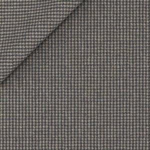 Gilet Grigio Pied de Poule Cashmere Tessuto prodotto da  Drago