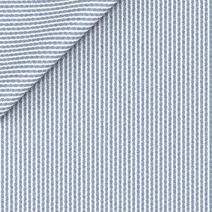 Gilet Seersucker Azzurro Tessuto prodotto da  Tessitura di Quaregna
