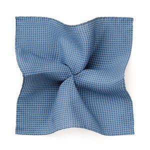 Pochette Vintage Azzurra Tessuto prodotto da  Lanieri