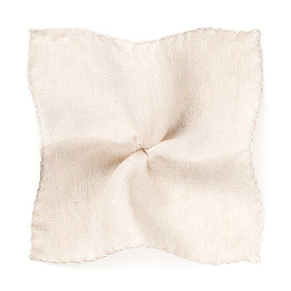 Pochette Crochet Beige Tessuto prodotto da  Ibieffe