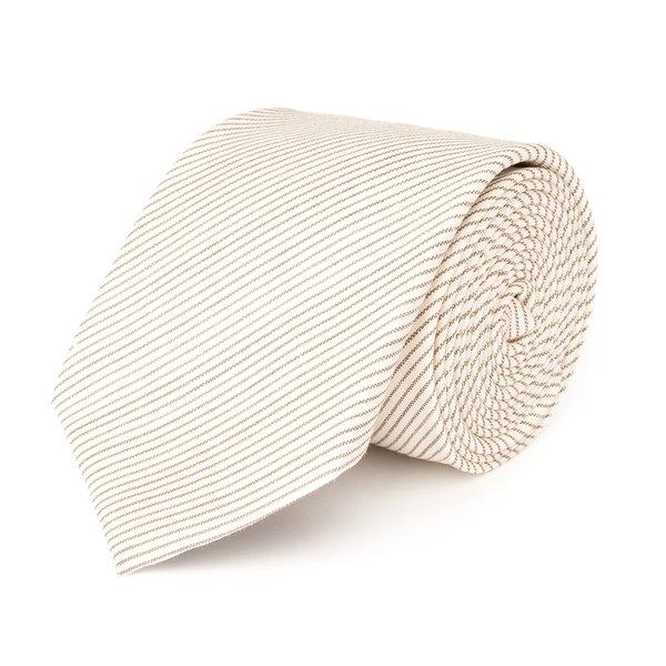 Cravatta Havana Rigata Tessuto prodotto da  Drago