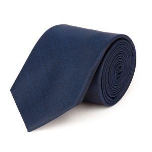 Cravatta Blu Tessuto prodotto da  Tallia di Delfino