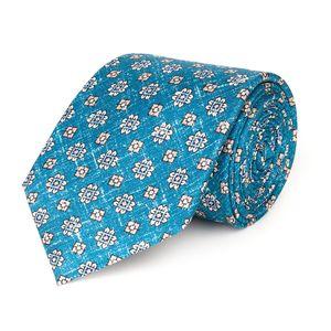 Cravatta Siena Azzurra Tessuto prodotto da  Lanieri