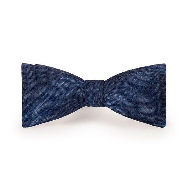 Papillon Blu Principe di Galles Tessuto prodotto da  Tallia di Delfino