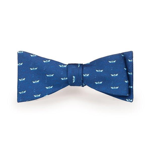 Papillon Mare Blu Notte Tessuto prodotto da  Lanieri