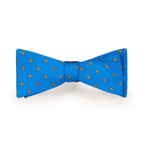 Papillon Roma Blu Elettrico Tessuto prodotto da  Lanieri