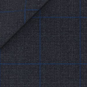 Giacca Traveller Blu Finestrata Tessuto prodotto da  Reda