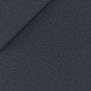 Blazer Natural Stretch Blu Pied de Poule Tessuto prodotto da  Reda