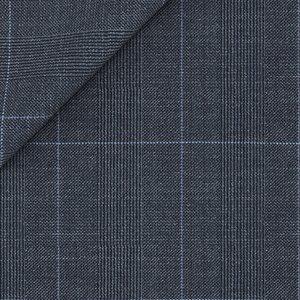 Giacca Blu Principe di Galles Tessuto prodotto da  Drago