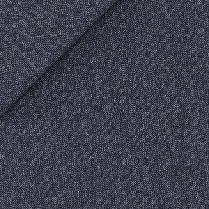Giacca Blu Denim Tessuto prodotto da  Lanificio Cerruti