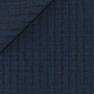 Pantaloni Blu Marroni a Righe Tessuto prodotto da  Vitale Barberis Canonico