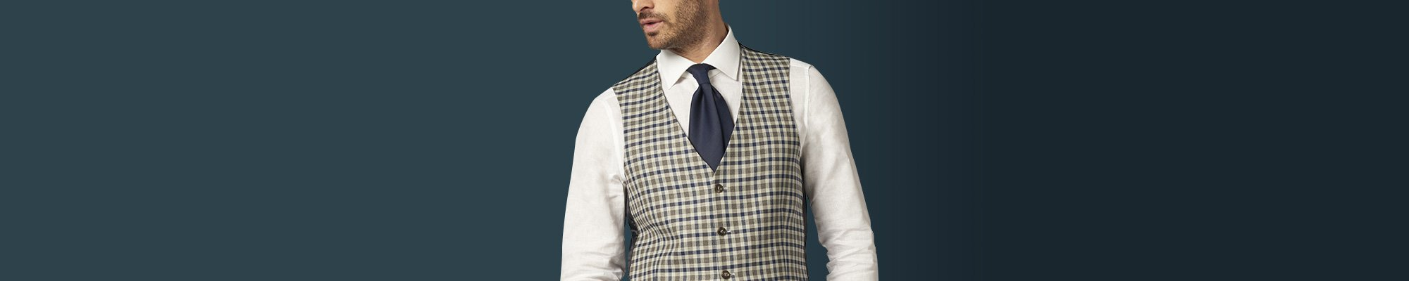 Men's Made To Measure Vests