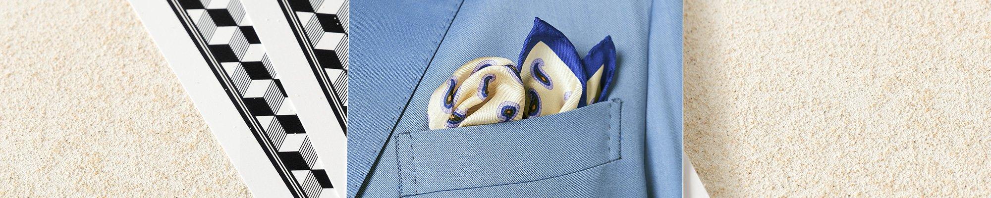 Pochette de costume pour homme