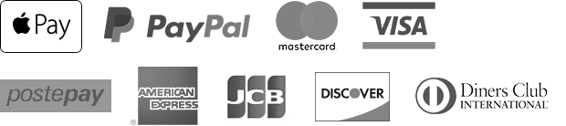 apple pay, paypal, credit cards logo