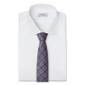 Corbata Violeta Cuadros Lana
