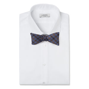 Bowtie Purple Check Wool