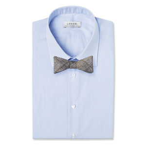 Bowtie Grey Prince of Wales Wool