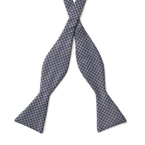 Bowtie Brown Houndstooth Wool